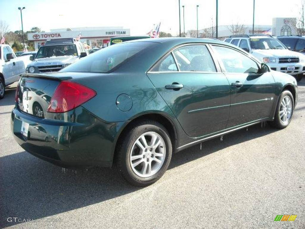 Emerald Green Metallic 2006 Pontiac G6 V6 Sedan Exterior