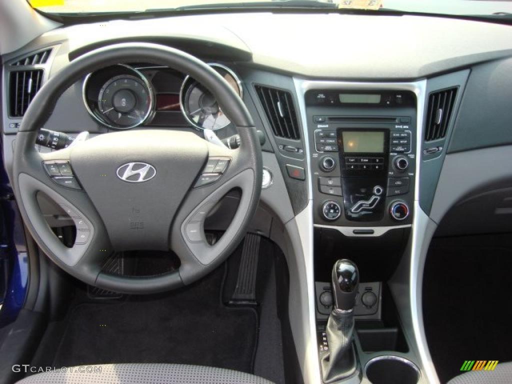 2011 Hyundai Sonata Se Gray Dashboard Photo 46763379