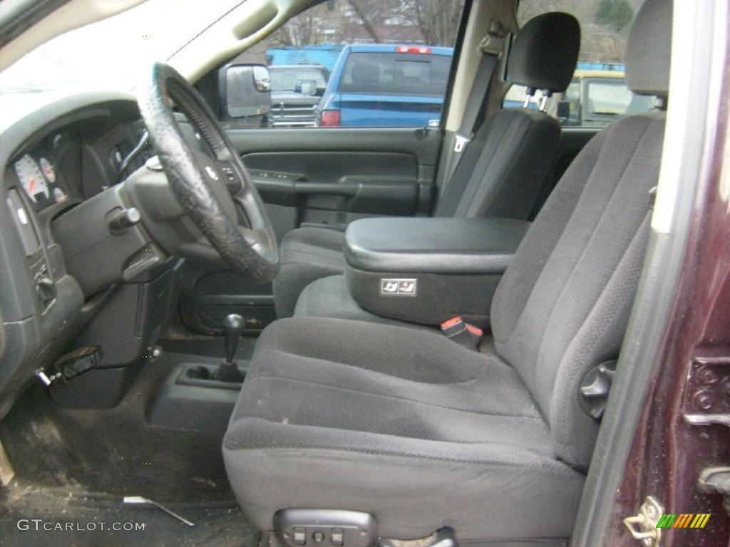 Dark Slate Gray Interior 2003 Dodge Ram 3500 Laramie Quad ...