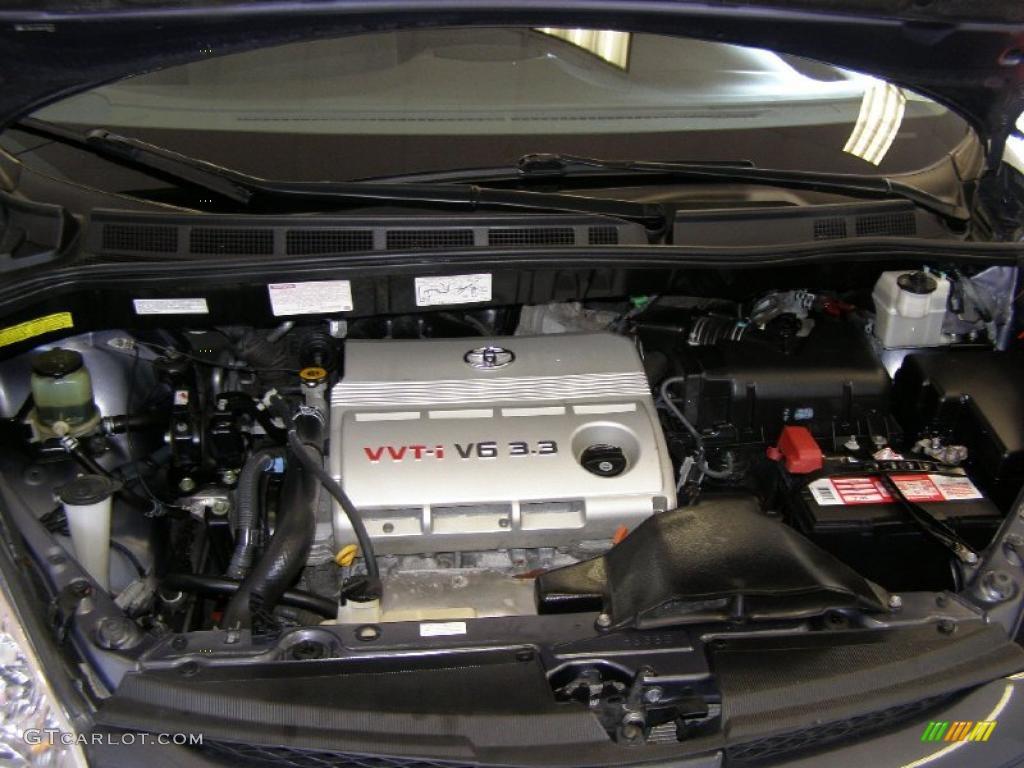 2006 toyota sienna le awd 3 3l dohc 24v vvt i v6 engine photo