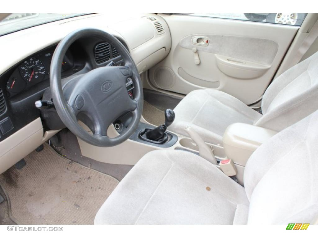 2001 kia sephia standard sephia model interior photo 46767981