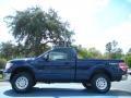 Dark Blue Pearl Metallic - F150 XLT Regular Cab 4x4 Photo No. 2