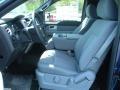 2011 F150 XLT Regular Cab 4x4 Steel Gray Interior