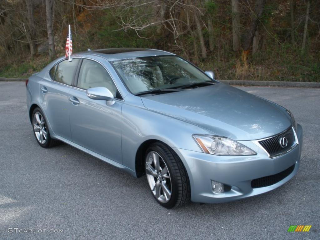 breakwater blue metallic 2009 lexus is 250 exterior photo. Black Bedroom Furniture Sets. Home Design Ideas