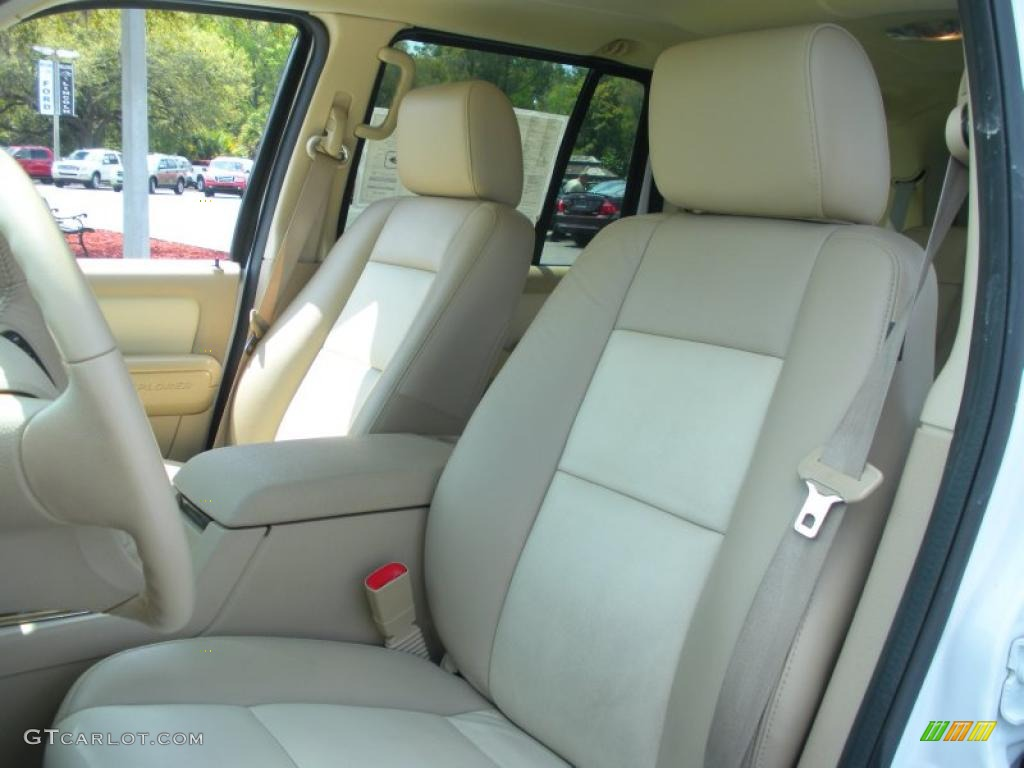 camel interior 2006 ford explorer eddie bauer photo