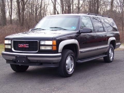 1999 GMC Suburban K1500 SLT 4x4 Data, Info and Specs