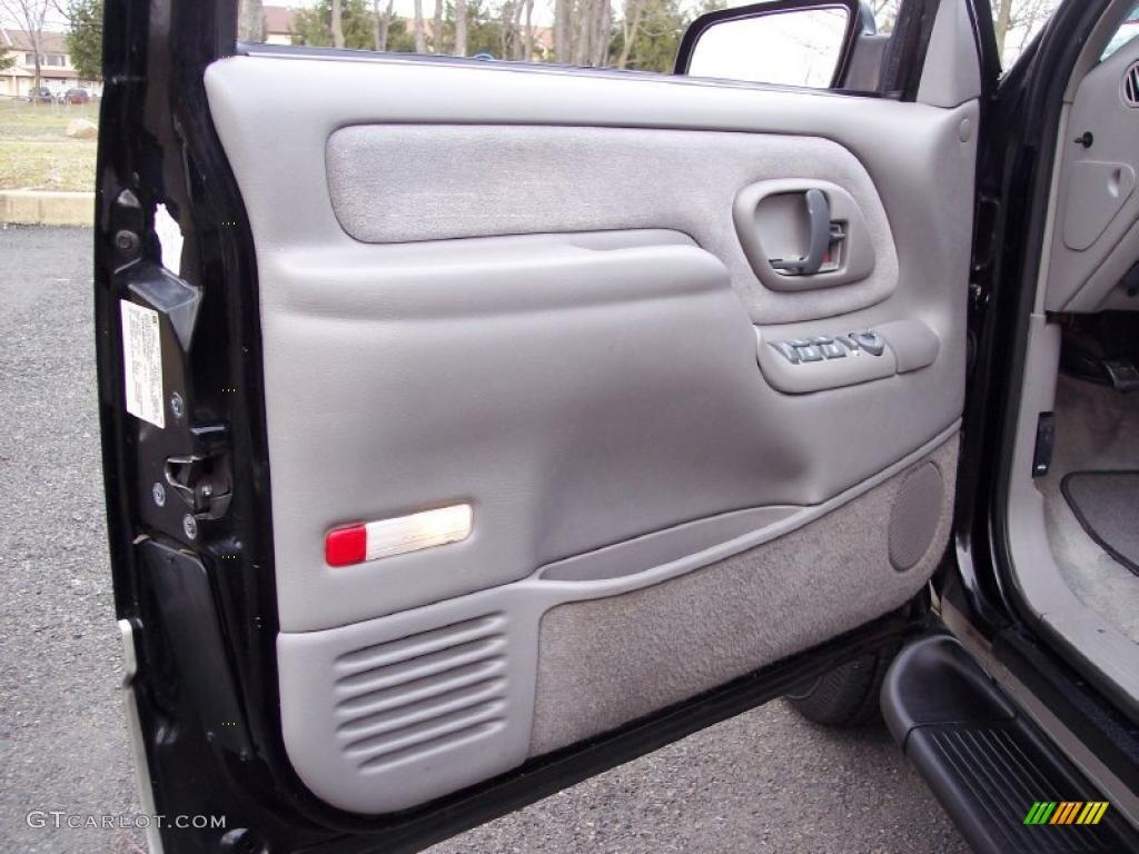 1999 gmc suburban k1500 slt 4x4 gray door panel photo - 1997 chevy silverado interior parts ...