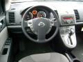 2011 Nissan Sentra Charcoal Interior Dashboard Photo