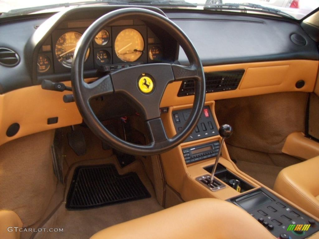 1989 ferrari mondial t cabriolet tan dashboard photo 4677885. Black Bedroom Furniture Sets. Home Design Ideas
