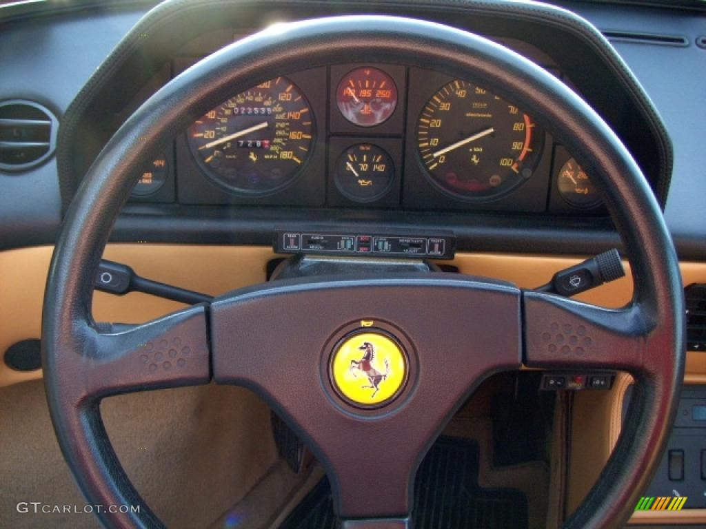 1989 ferrari mondial t cabriolet steering wheel photos. Black Bedroom Furniture Sets. Home Design Ideas