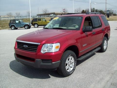 2006 ford explorer xls 4x4 data info and specs. Black Bedroom Furniture Sets. Home Design Ideas