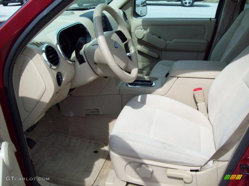 2006 ford explorer xls 4x4 interior color photos