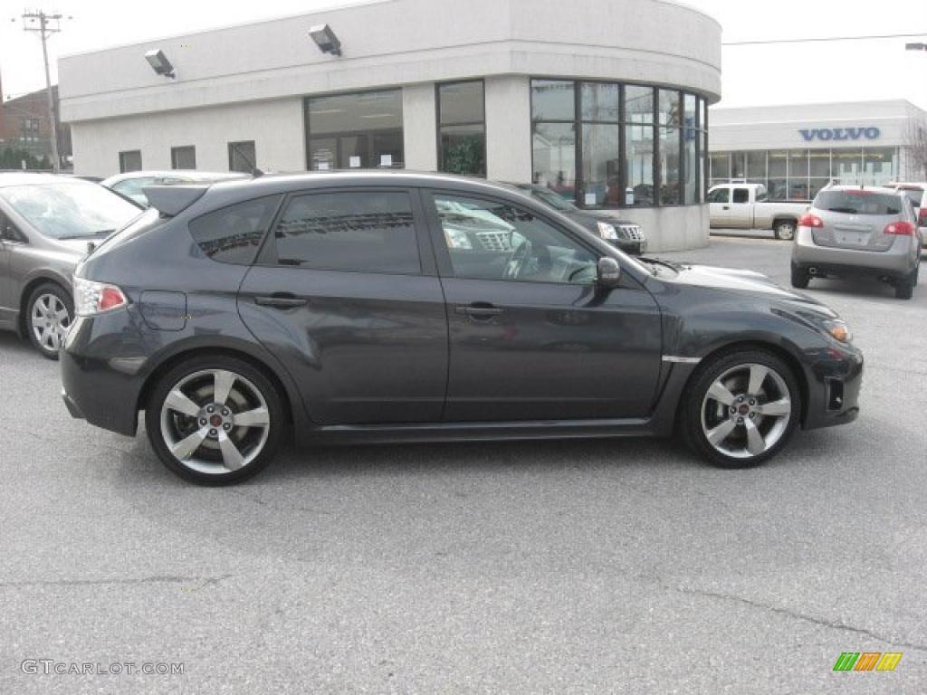Dark Gray Metallic 2009 Subaru Impreza Wrx Sti Exterior
