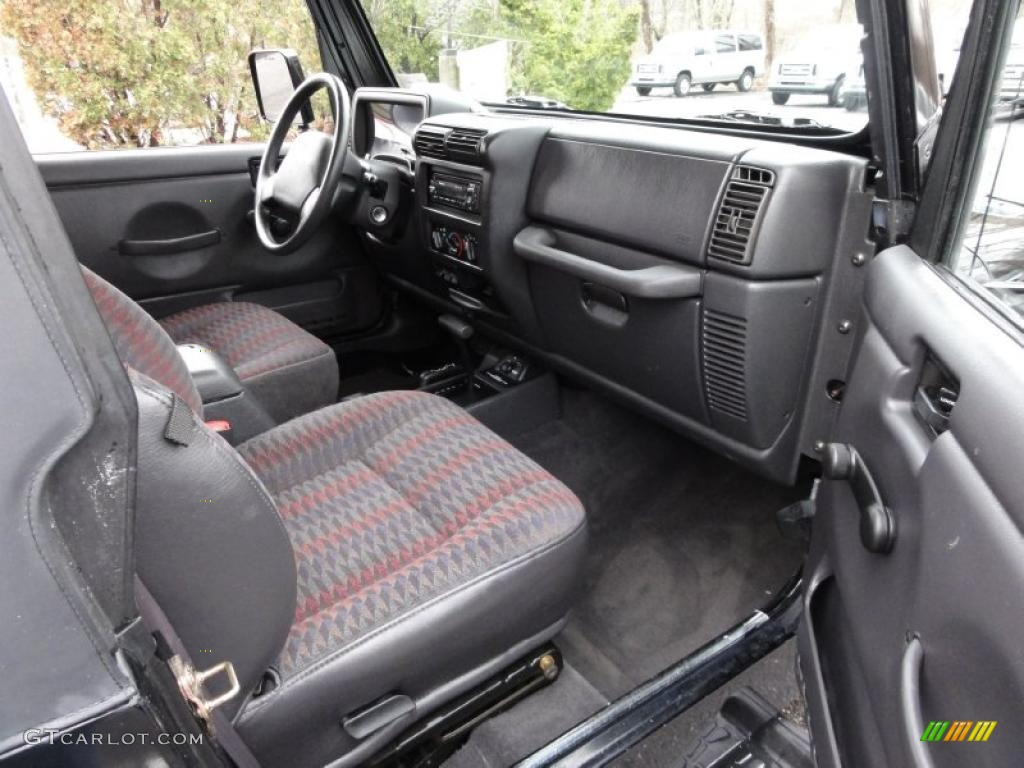 1999 Jeep Wrangler Sport 4x4 Interior Photo 46805058