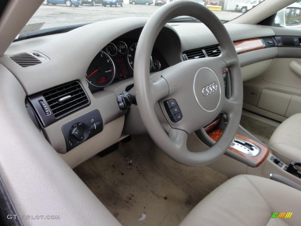 2003 audi a6 3 0 quattro sedan beige steering wheel photo. Black Bedroom Furniture Sets. Home Design Ideas
