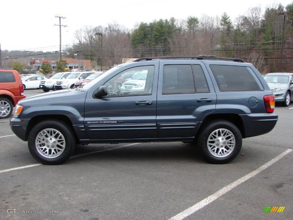 patriot blue pearl 2003 jeep grand cherokee limited 4x4 exterior photo. Black Bedroom Furniture Sets. Home Design Ideas