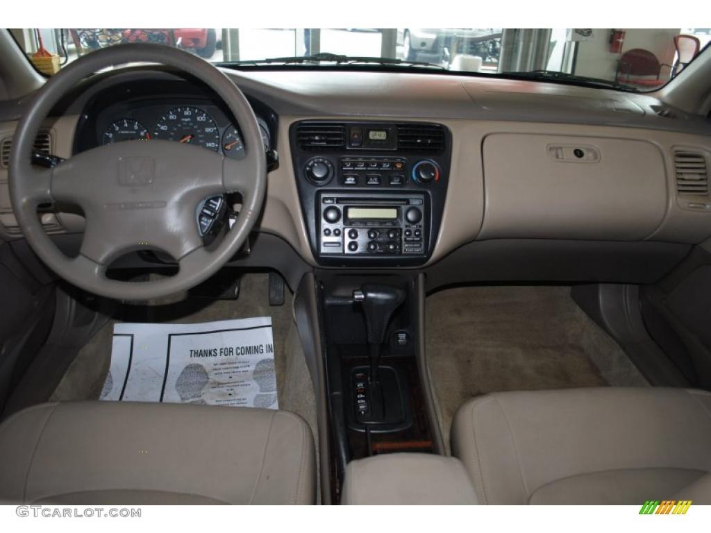 1999 Honda Accord Ex Sedan Tan Dashboard Photo 46812072