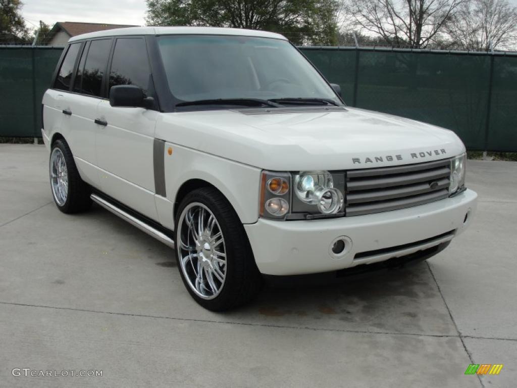 2003 chawton white land rover range rover hse 46776594 photo 24 car color. Black Bedroom Furniture Sets. Home Design Ideas