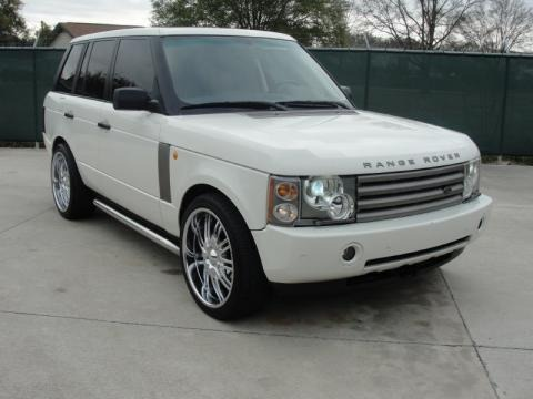 2003 land rover range rover hse data info and specs. Black Bedroom Furniture Sets. Home Design Ideas