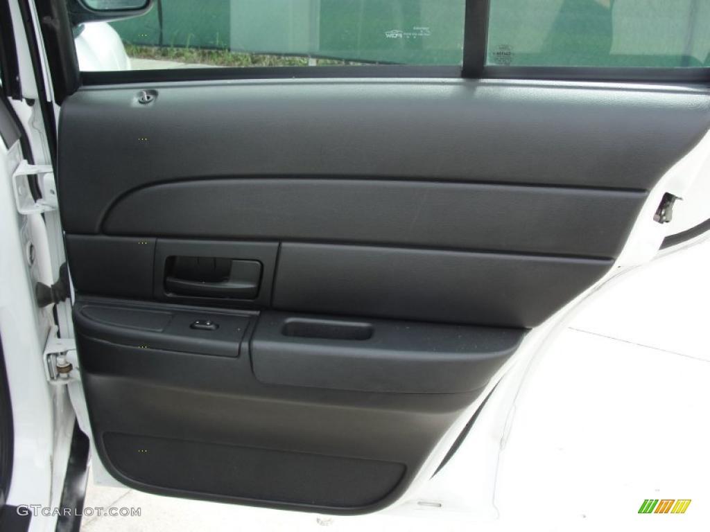 2007 Ford Crown Victoria Police Interceptor Charcoal Black Door Panel Photo 46817491