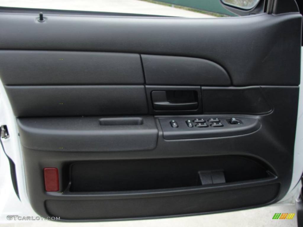2008 Ford Crown Victoria Police Interceptor Charcoal Black Door Panel Photo 46818351
