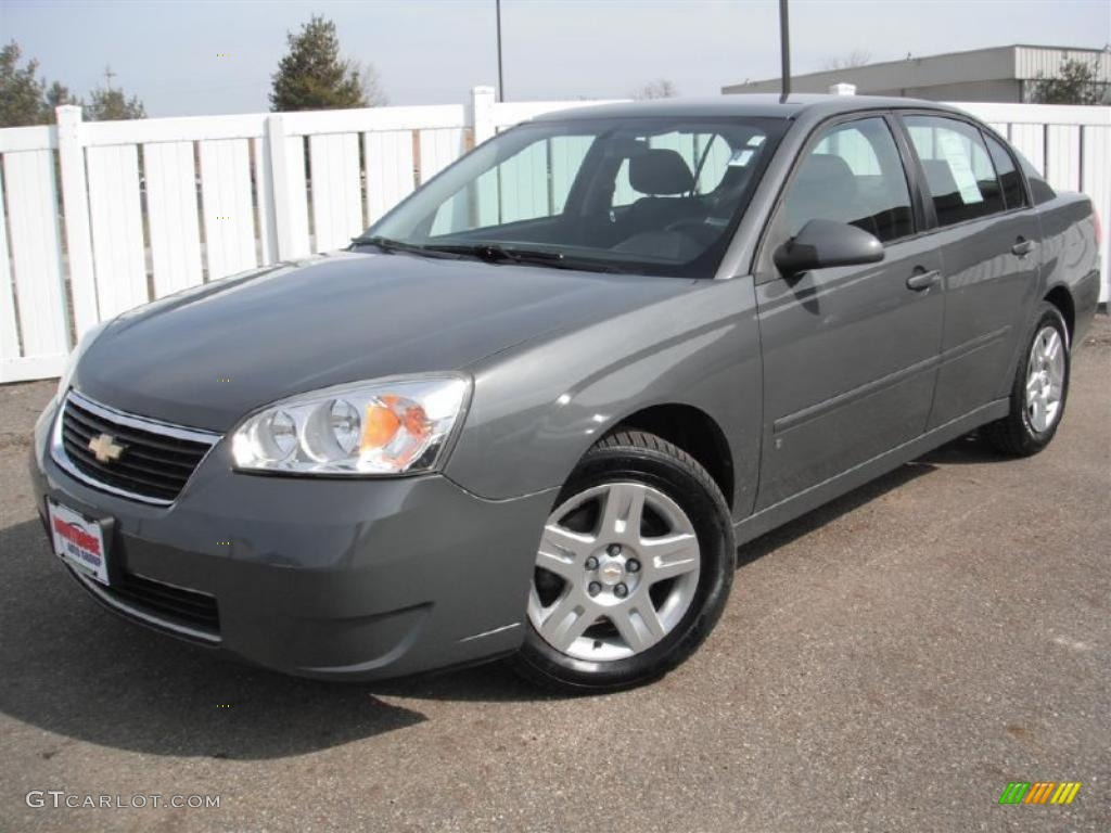 2007 dark gray metallic chevrolet malibu lt sedan 46776028 photo 3 gtcarl. Cars Review. Best American Auto & Cars Review