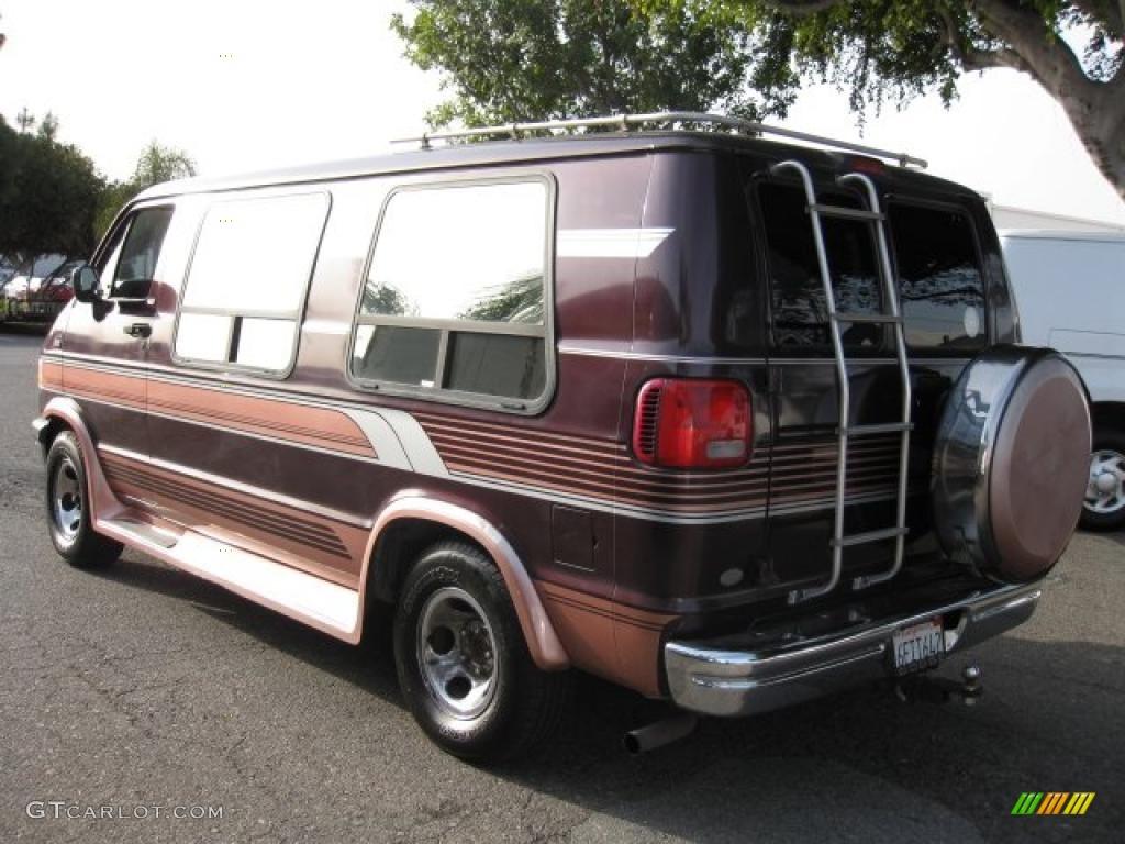 1995 ram conversion van classic car models