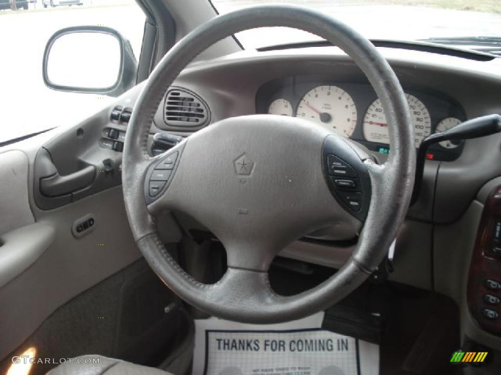 2000 Chrysler Town  U0026 Country Limited Mist Gray Steering
