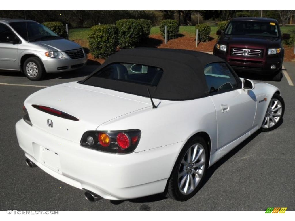 Grand Prix White 2007 Honda S2000 Roadster Exterior Photo
