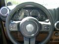 2011 Natural Green Pearl Jeep Wrangler Rubicon 4x4  photo #9