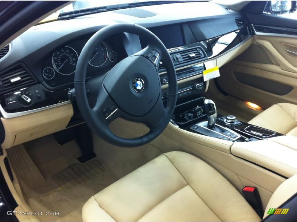 Bmw Vin Decoder >> Venetian Beige Interior 2011 BMW 5 Series 535i xDrive Sedan Photo #46845864 | GTCarLot.com