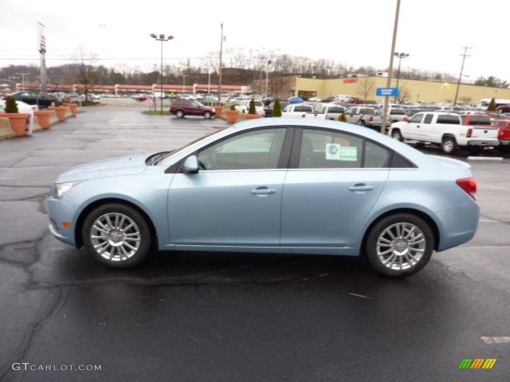 Ice Blue Metallic 2011 Chevrolet Cruze ECO Exterior Photo ...