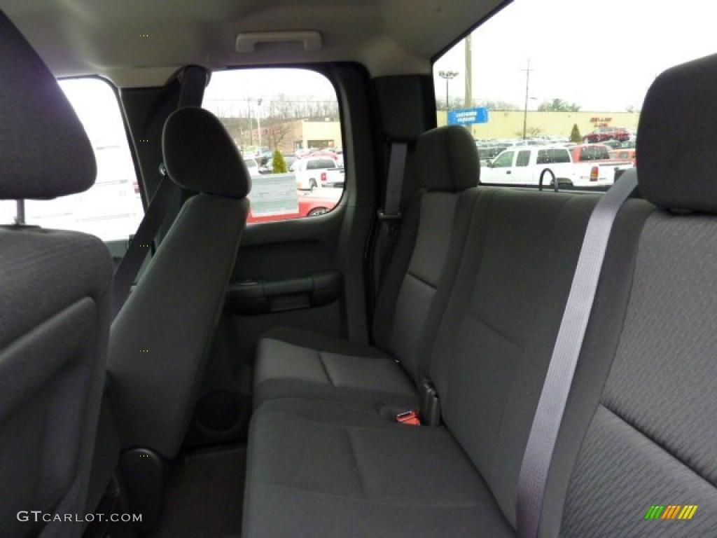 2011 Silverado 1500 LT Extended Cab 4x4 - Imperial Blue Metallic / Ebony photo #9