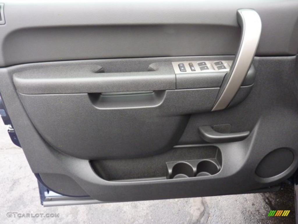 2011 Silverado 1500 LT Extended Cab 4x4 - Imperial Blue Metallic / Ebony photo #14