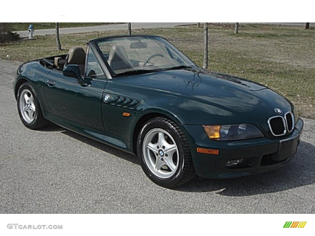 1996 Dark Green Ii Bmw Z3 1 9 Roadster 46777062