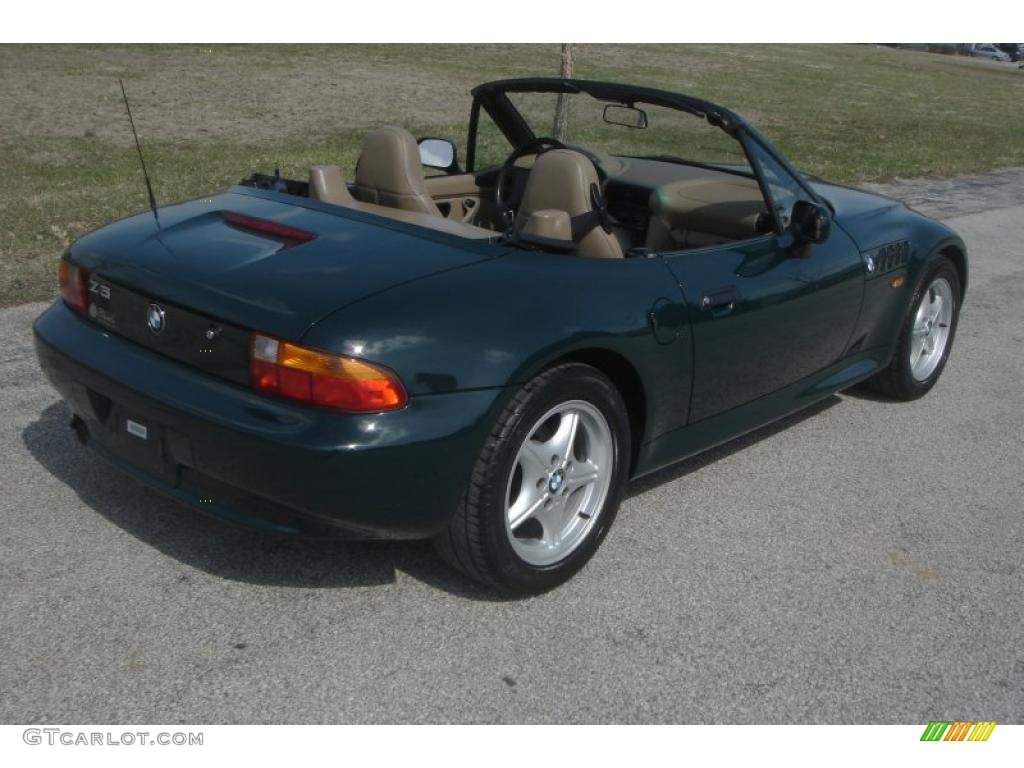Dark Green Ii 1996 Bmw Z3 1 9 Roadster Exterior Photo