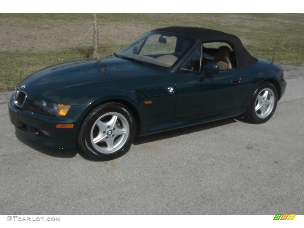 bmw z3 19 2 1996. Contemporary 1996 Dark Green Ii 1996 Bmw Z3 19 Roadster Exterior Photo On Bmw Z3 2 T