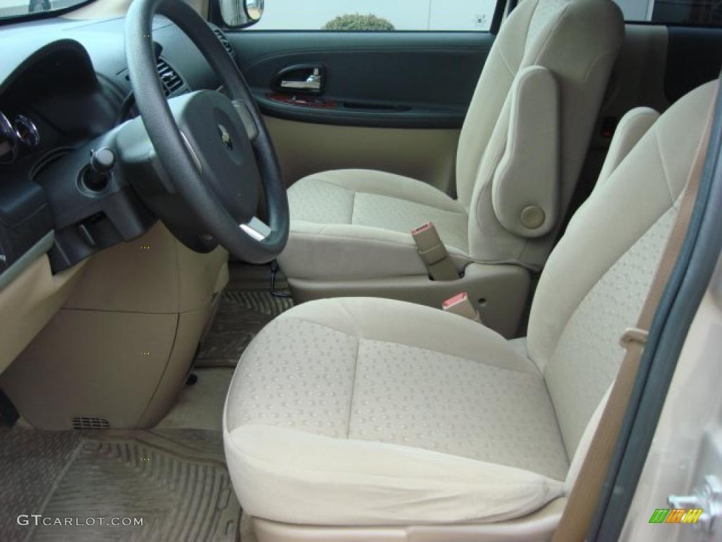 Cashmere Beige Interior 2008 Chevrolet Uplander Ls Photo 46854909