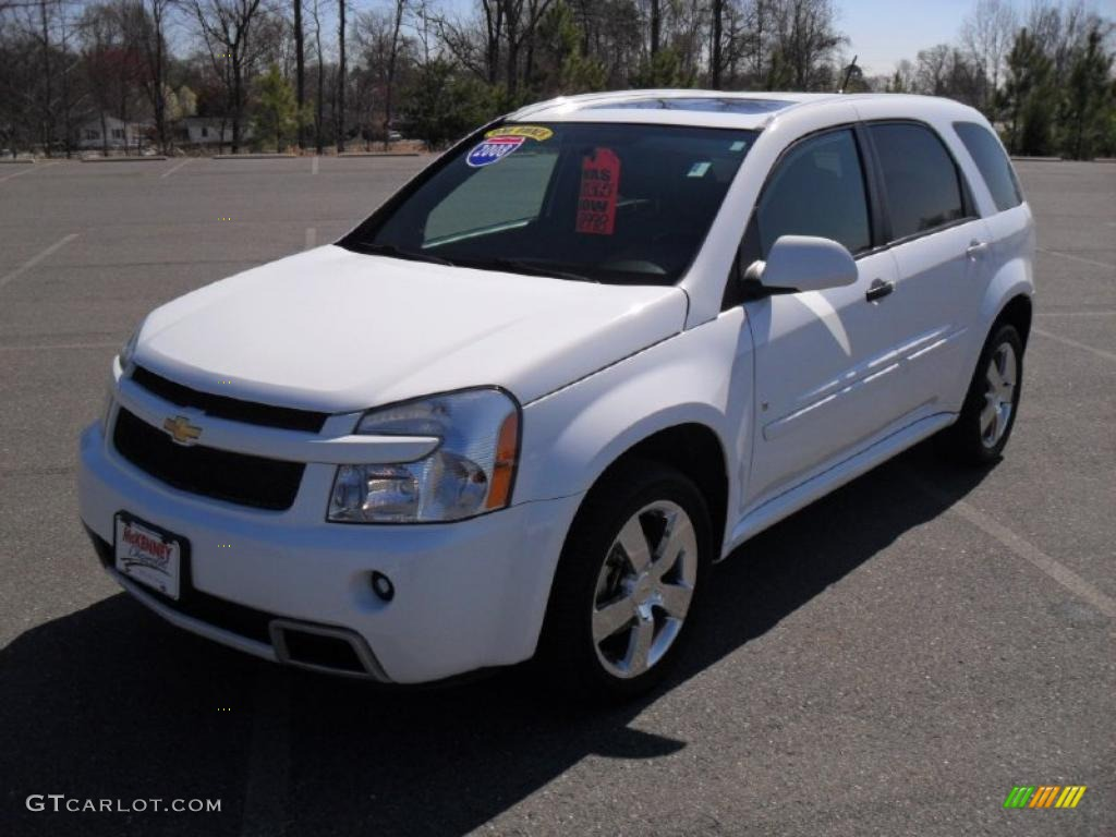2008 Summit White Chevrolet Equinox Sport AWD #46777081 | GTCarLot.com ...