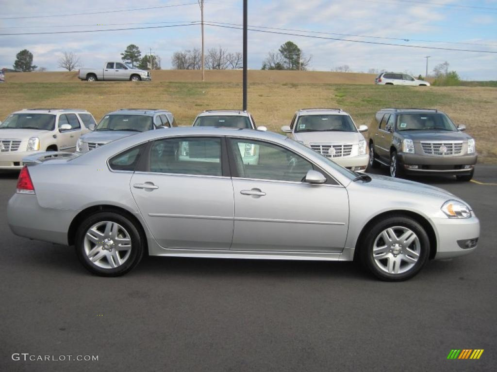 silver ice metallic 2011 chevrolet impala lt exterior photo 46860522. Black Bedroom Furniture Sets. Home Design Ideas
