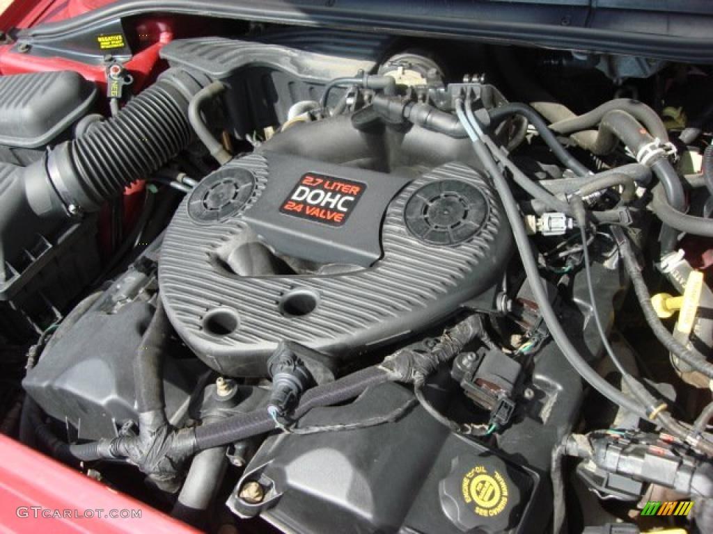 1999 Dodge Intrepid Standard Intrepid Model 2.7 Liter DOHC ...