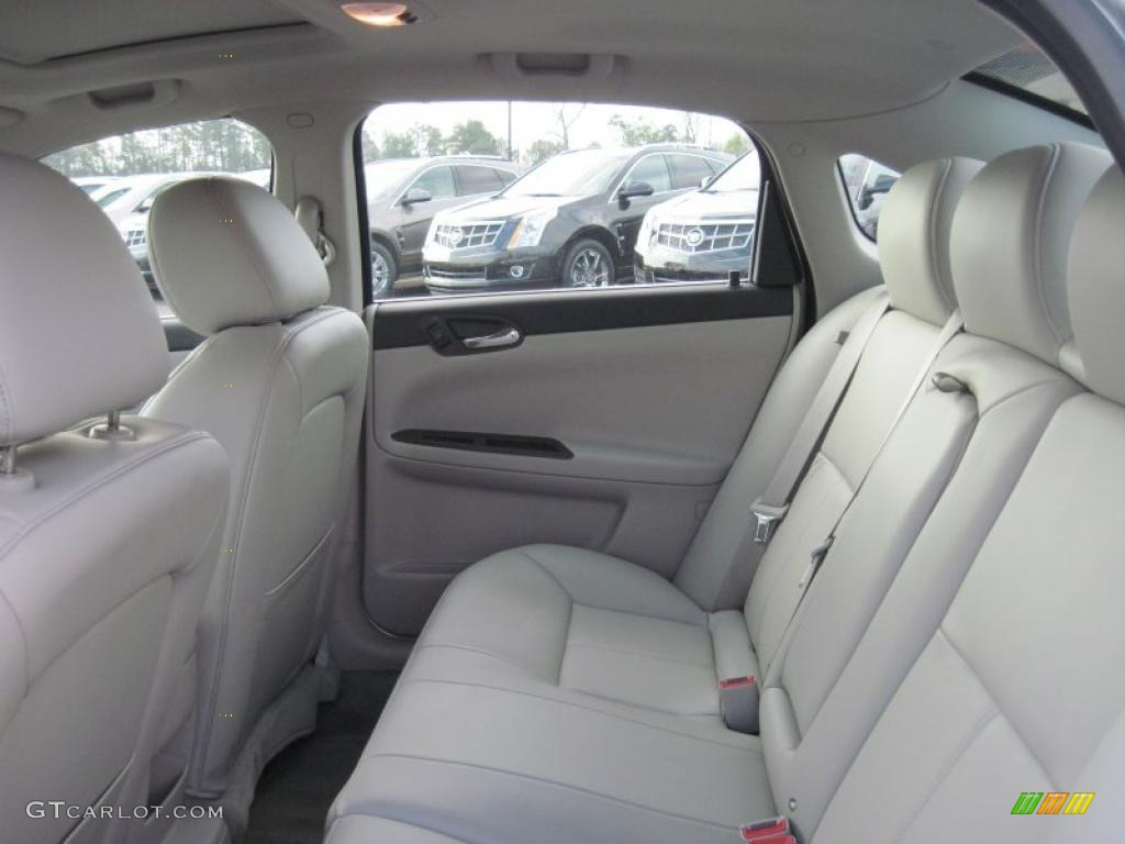Gray Interior 2011 Chevrolet Impala Lt Photo 46860641