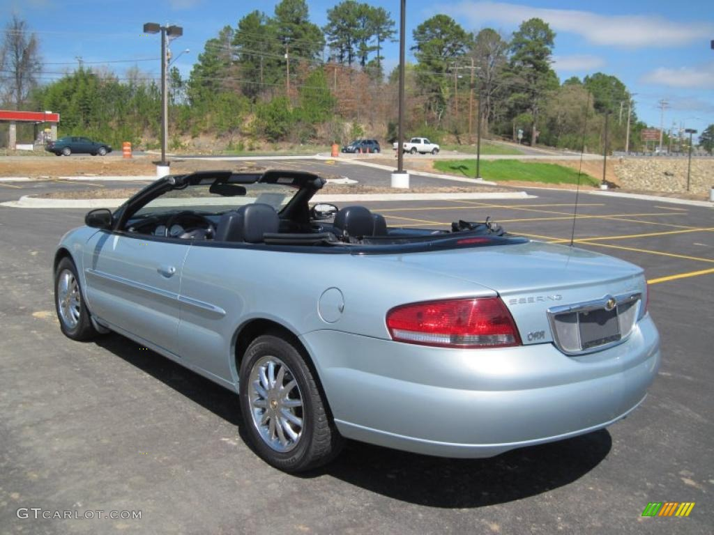 sterling blue satin glow 2002 chrysler sebring limited convertible. Cars Review. Best American Auto & Cars Review