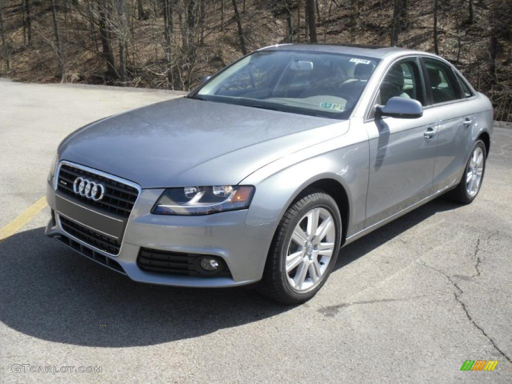 Quartz Grey Metallic 2011 Audi A4 2 0t Quattro Sedan