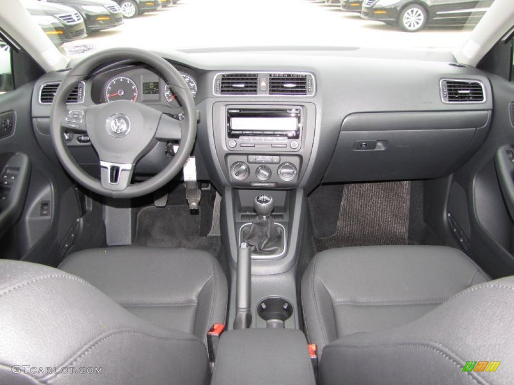 2011 Volkswagen Jetta Se Sedan Titan Black Dashboard Photo 46864338 Gtcarlot Com