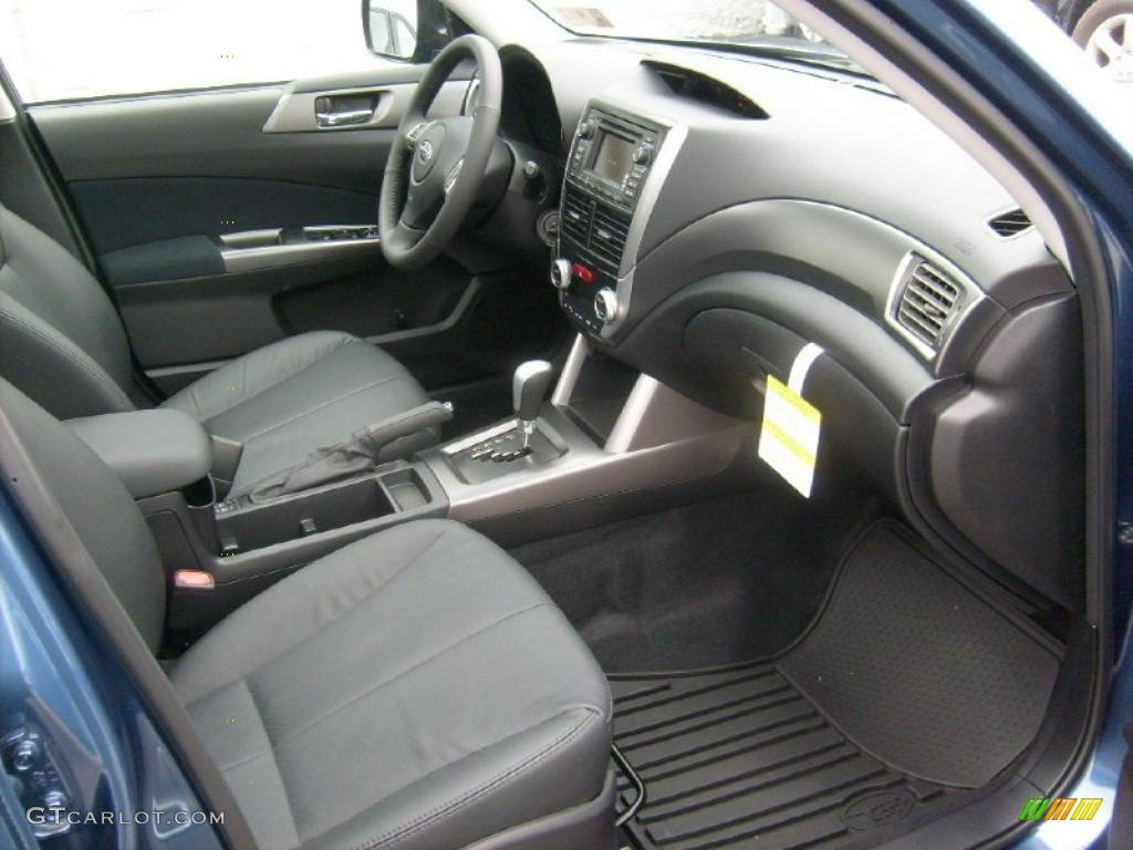 Black Interior 2011 Subaru Forester 2 5 X Touring Photo 46867581