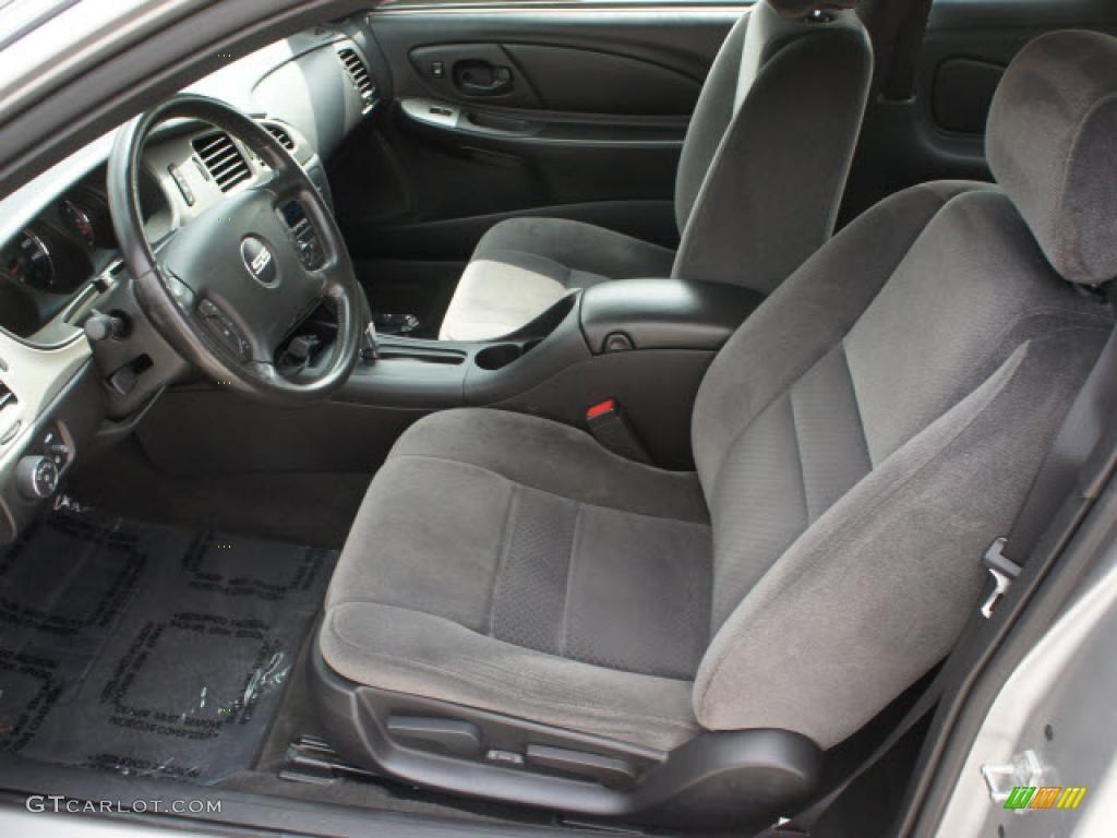 Ebony Interior 2006 Chevrolet Monte Carlo Ss Photo 46870886