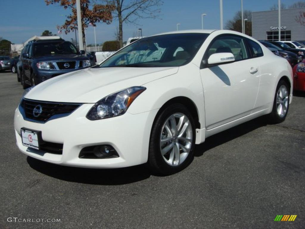 2011 Nissan Altima 2.5s Specs >> Winter Frost White 2011 Nissan Altima 3.5 SR Coupe Exterior Photo #46875308 | GTCarLot.com