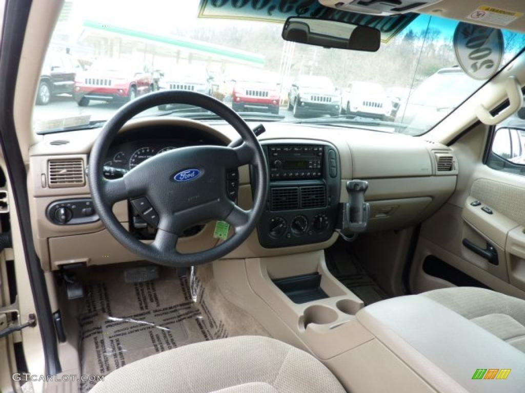 2002 Ford Explorer Xls >> Medium Parchment Interior 2002 Ford Explorer XLT 4x4 Photo