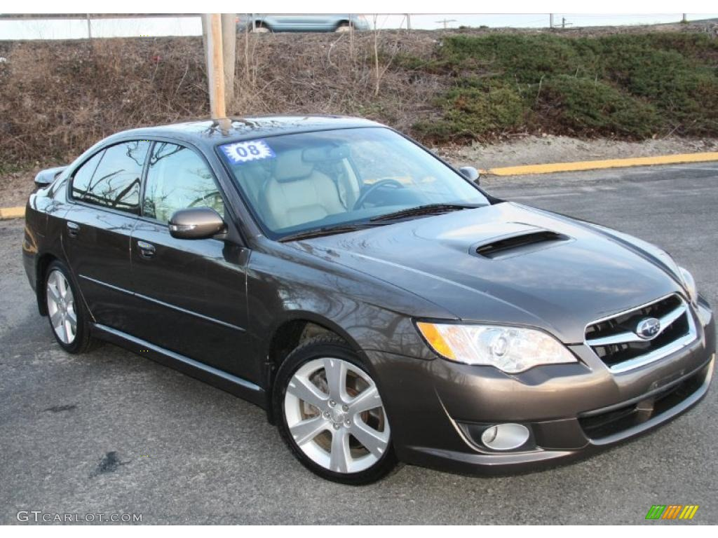 deep bronze metallic 2008 subaru legacy 2.5 gt limited sedan